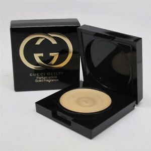 Gucci Guilty By Gucci 3 G 01 Oz Solid Parfum Nib 737052671659 Ebay