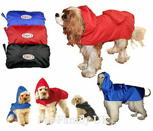 Dog-wind-waterproof-RAIN-coat-clothes-jacket-Small-Medium-Extra-Large-Giant-dog