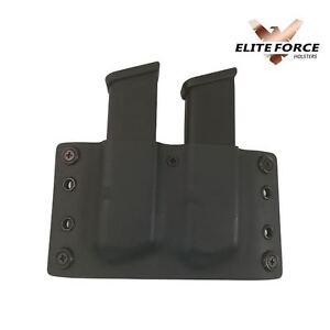 ~~Springfield Armory 1911 KYDEX DOUBLE Mag Pouch OWB MAGAZINE POUCH 45 CAL~~ u7fAHfke-07165746-903455745