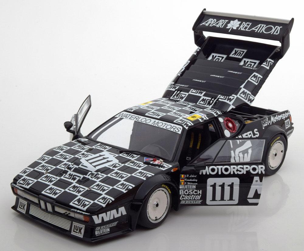 Minichamps BMW M1 E26 24h Le Mans 198635;111 18 Scale LE of 504.Ny i akglidasn