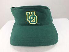Oregon Ducks NCCA 90's Vintage Visor Hat Cap NEW By American Needle