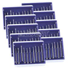 Dental Fg330 High Speed Tungsten Steel Carbide Burs Pear Shaped 19mm 10pcsbox