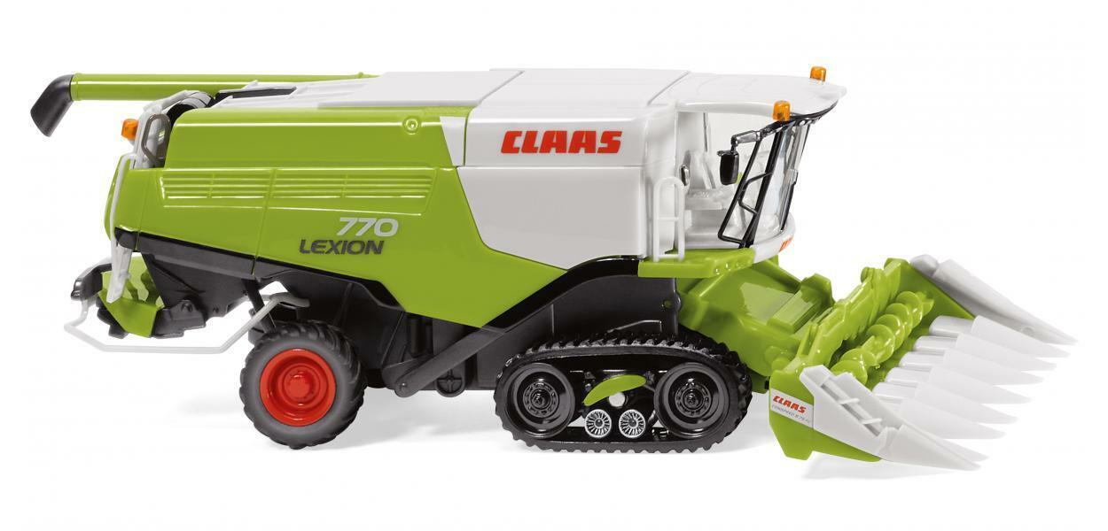 Wiking 038913, Claas Lexion 770 TT Mähdrscher mit Maisvorsatz, neu, OVP, 02 19  | Starke Hitze- und Abnutzungsbeständigkeit