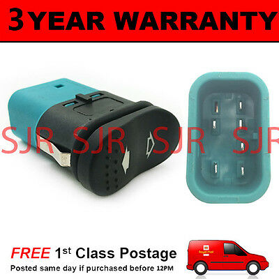 DOUBLE ELECTRIC POWER WINDOW CONTROL SWITCH BUTTON FOR FORD TRANSIT 2006 On