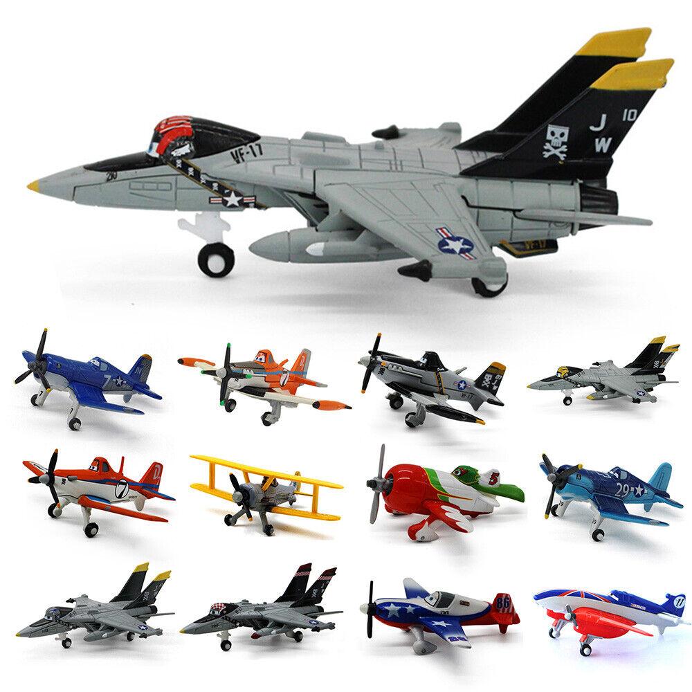 Mattel Disney Pixar Planes Kids Toy Gift 1:45 Dusty Crophopper Diecast Model Toy