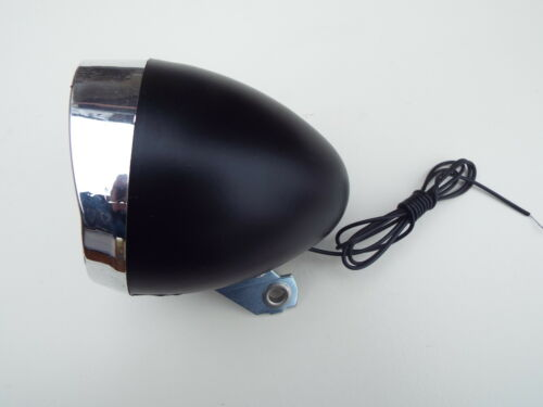Nostalgie Scheinwerfer Fahrrad Licht  Lampe schwarz DynamoHollandrad Retro#27113