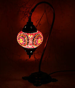 Multicolour-Turkish-Moroccan-Style-Mosaic-Table-Lamp-Lampshade-Hand-Made-ENDV04