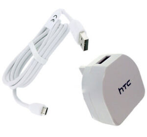 Genuine-HTC-TC-B270-Mains-Charger-With-Cable-For-HTC-Desire-Eye-610-510-White