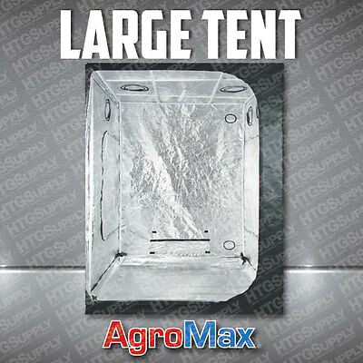 AGROMAX LARGE GROW TENT HYDRO BOX ROOM MYLAR REFLECTIVE USA 4.5 x 4.5' feet foot