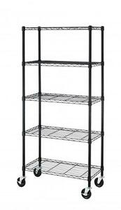 s l300 chrome wire shelf 10 on chrome wire shelf