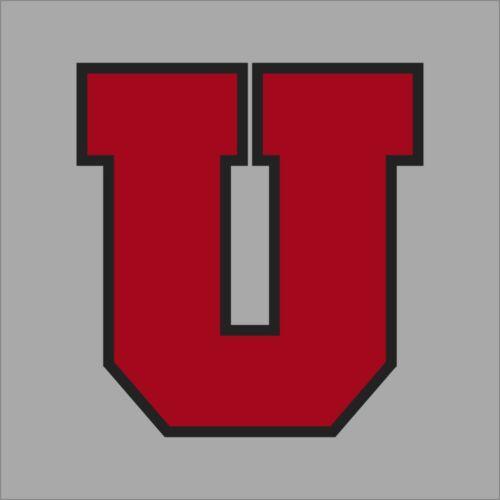 Utah Utes #2 NCAA College Vinyl Sticker Decal Car Window Wall