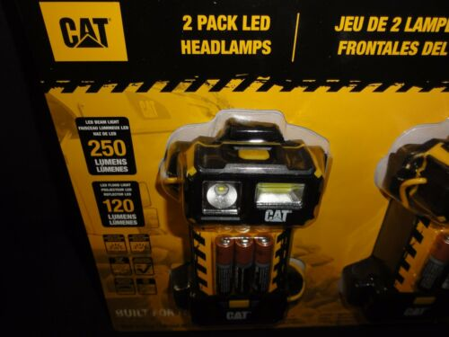 Headlamps 2 Pack Led by Caterpillar