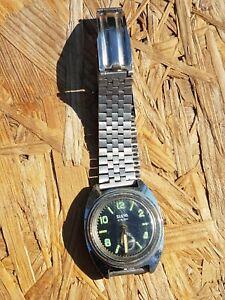 Montre Slava à réparer 17 rubis waterproof Watch to repair