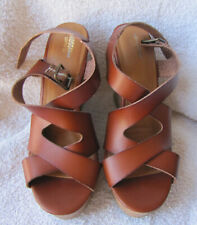 7a3fb5ec0da item 3 NWOB Mossimo Supply Co. Women s Brown Wedge Platform Sandals Size 7  -NWOB Mossimo Supply Co. Women s Brown Wedge Platform Sandals Size 7