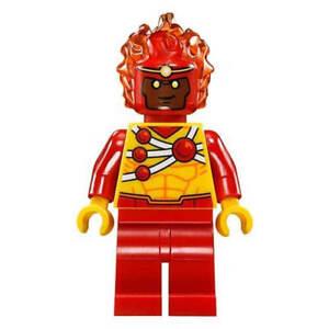 LEGO-DC-Super-Heroes-FIRESTORM-Minifigure-Split-from-76097-Bagged