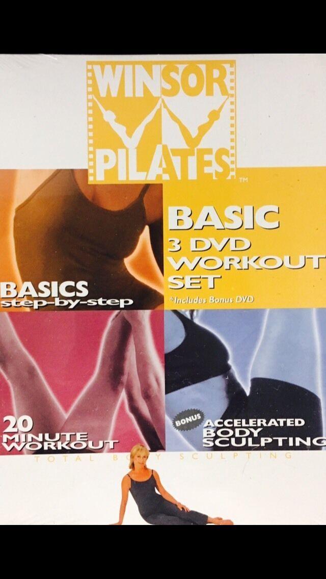~ DVD [WINDSOR PILATES] [3 DVD BASIC WORKOUT SET] FITNESS EXERCISE MOVIE Reviews