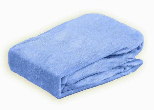 Polar Coral Fleece  Grey Deep Fitted Sheet Cosy Warm Bed Sheet Mattress Cover