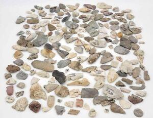 100 Plus Authentic Illinois Native American artifact Lot arrowhead points Blades
