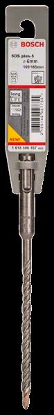 Bosch Hammerbohrer SDS plus-5 6x100x165 mm Professional