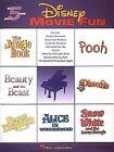 Disney Movie Fun (5 Finger Piano) by Hal Leonard Corporation (Paperback, 1999)