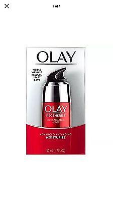 Olay Regenerist Micro-Sculpting Facial Serum 1.7 Fl Oz Moisturize. Free Shipping