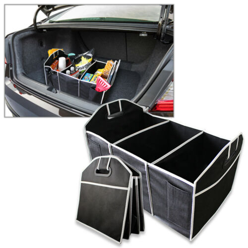 B2G1 Free Extra Large Car Auto Trunk Collapsible Organizer with 3 Compartments