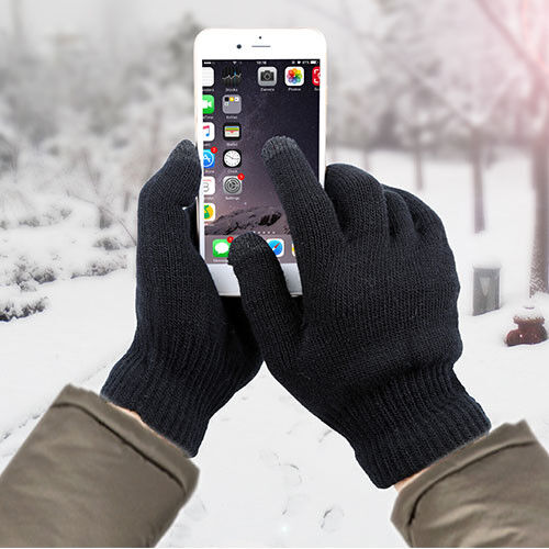 Men Women Tablet Pad Smartphone Touch Screen Gloves Knitted Winter Warm Gloves
