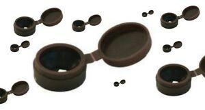100x-Unsichtbarer-Schraubenkopf-3-Farben-Schraubenabdeckung-Clip-Druckknopf