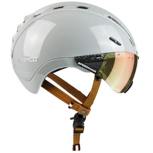 Casco Fahrradhelm  Helm ROADster Plus sand Glanz   mit Visier Gr M  55-57 cm