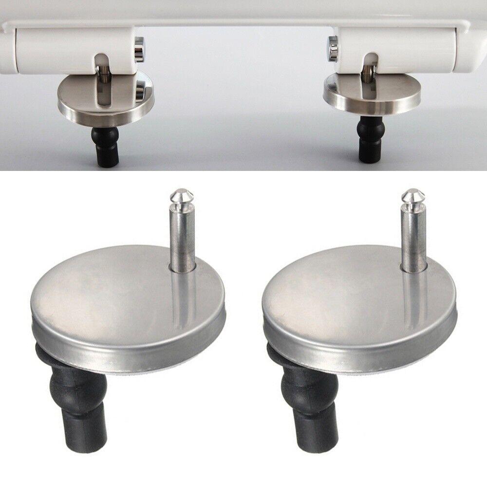 1 Pair 2 Pcs Top Fix Wc Toilet Seat Hinge Fittings Quick