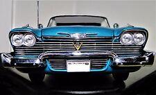 Car 1 Dodge Plymouth Chrysler 1956 18  Vintage 24 300b 12 Carousel Blue 43