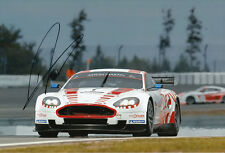 Darren Turner Hand Signed Aston Martin Racing Photo 12x8 10.