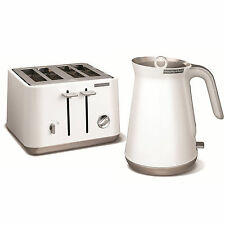 Morphy Richards 100003 240003 Aspect Stainless Steel Kettle And Toaster - White