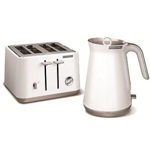 morphy richards 100003 240003 aspekt edelstahl wasserkocher und toaster wei ebay. Black Bedroom Furniture Sets. Home Design Ideas