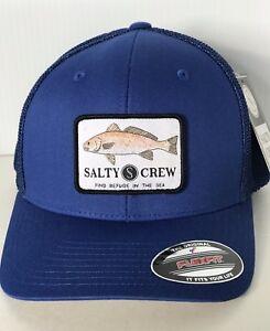 26777709b6e New SALTY CREW Spot Tail Retro Trucker FLEXFIT Men s CAP HAT one ...