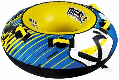 MESLE Tube Ringo 1 Person Schlepp-Ring Fun-Tube Donut Wasser-Reifen Towable