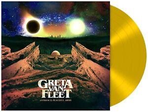 GRETA-VAN-FLEET-Anthem-Of-The-Peaceful-Army-LP-Yellow-Vinyl