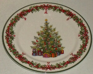 Christopher-Radko-Dinner-Plate-HOLIDAY-TRADITIONS-Vtg-2010-Colombia-10-75-034