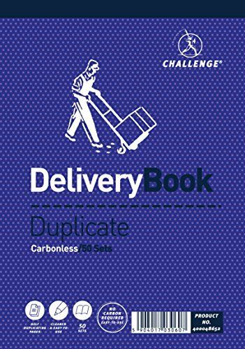 Pack of 5 Challenge Duplicate Delivery Book