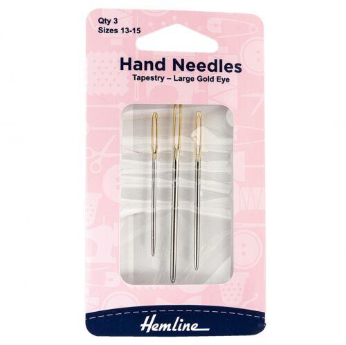 Hemline Blunt Tapestry Cross Stitch Needles (h203-m)