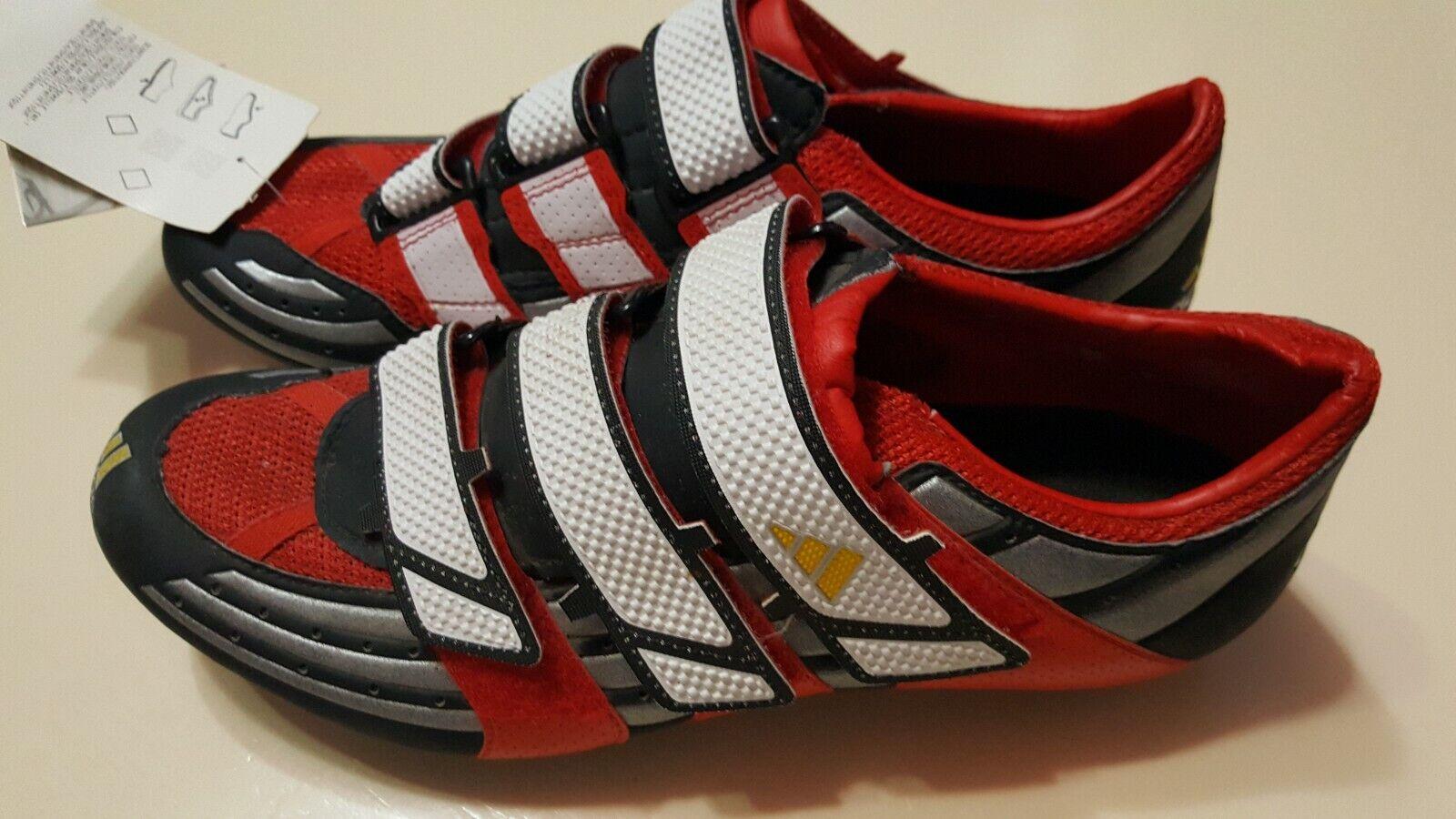 Adidas TT ADISTAR road bike carbon shoes cycling SPD compatible