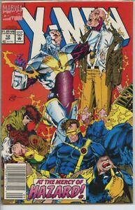 X-Men-1991-series-12-UPC-code-very-fine-comic-book