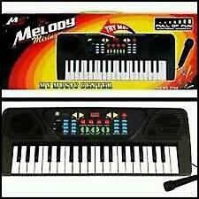 37 Keys Musical Electronic Keyboard Piano With Mic Melody Mixing Toys For Kids