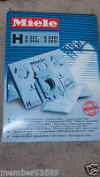Miele Type Z Vacuum Cleaner Bags M. Nr. 5294741 4 Bags And Filter Vacuum Cleaner Accessories