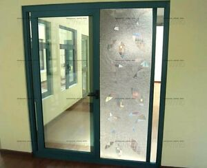 Vvivid 8ft x 2.5ft silver one way mirror static cling window film