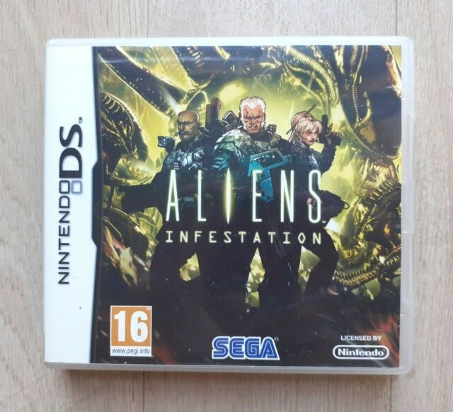 Aliens Infestation - Nintendo DS - Complet - PAL FRA - TBE - Envoi Gratuit