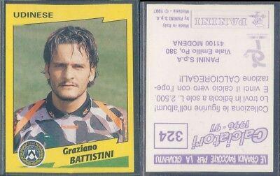 1996-97 Squadra UDINESE Calciatori Panini SCEGLI *** figurina con velina ***