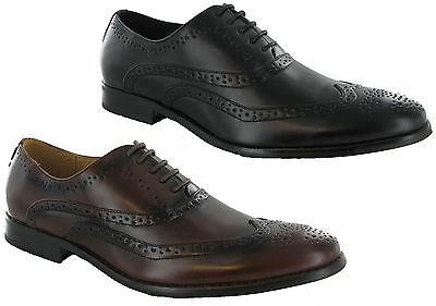 Zapatos De Cuero Goor Oxford Formales Con Cordones Botas Forrados Para Hombre Formal UK6-12