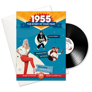 63rd-BIRTHDAY-ANNIVERSARY-GIFT-1955-CD-Book-Year-Greeting-Card