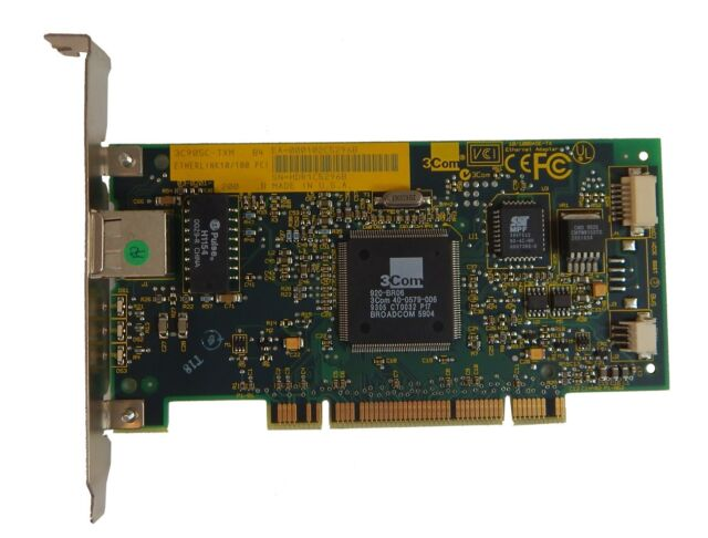 3COM ETHERLINK 10100 PCI T4 NIC (3C905-T4) DRIVER FOR WINDOWS